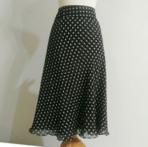 Anne Klein Plus Size Silk Skirt